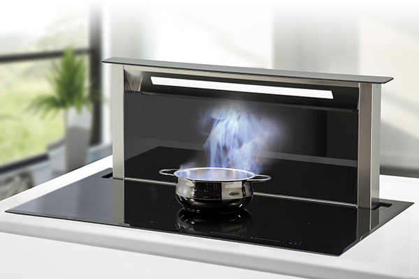Downdraft Fuel Cooktops - When You Go Downdraft, You Do Not Get Back!