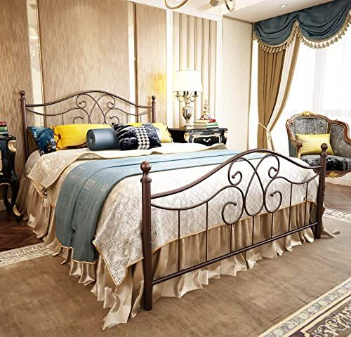To Win Patrons And Influence Gross sales with Wrought Iron Bed Frame